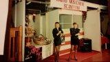 Lorena e Silvia nello stand di RMS