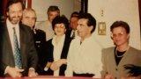 Inaugurazione 1989 col sindaco Franceschini