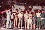 festa Marabù 1985 Guido Bertoldi e lo staff