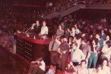 festa marabù 1985 - alla consolle Silvano con il maestro Traiano Bonini