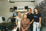1995 studi di via Mazzini- Silvia,Zia Lalla,Silvano,Paola