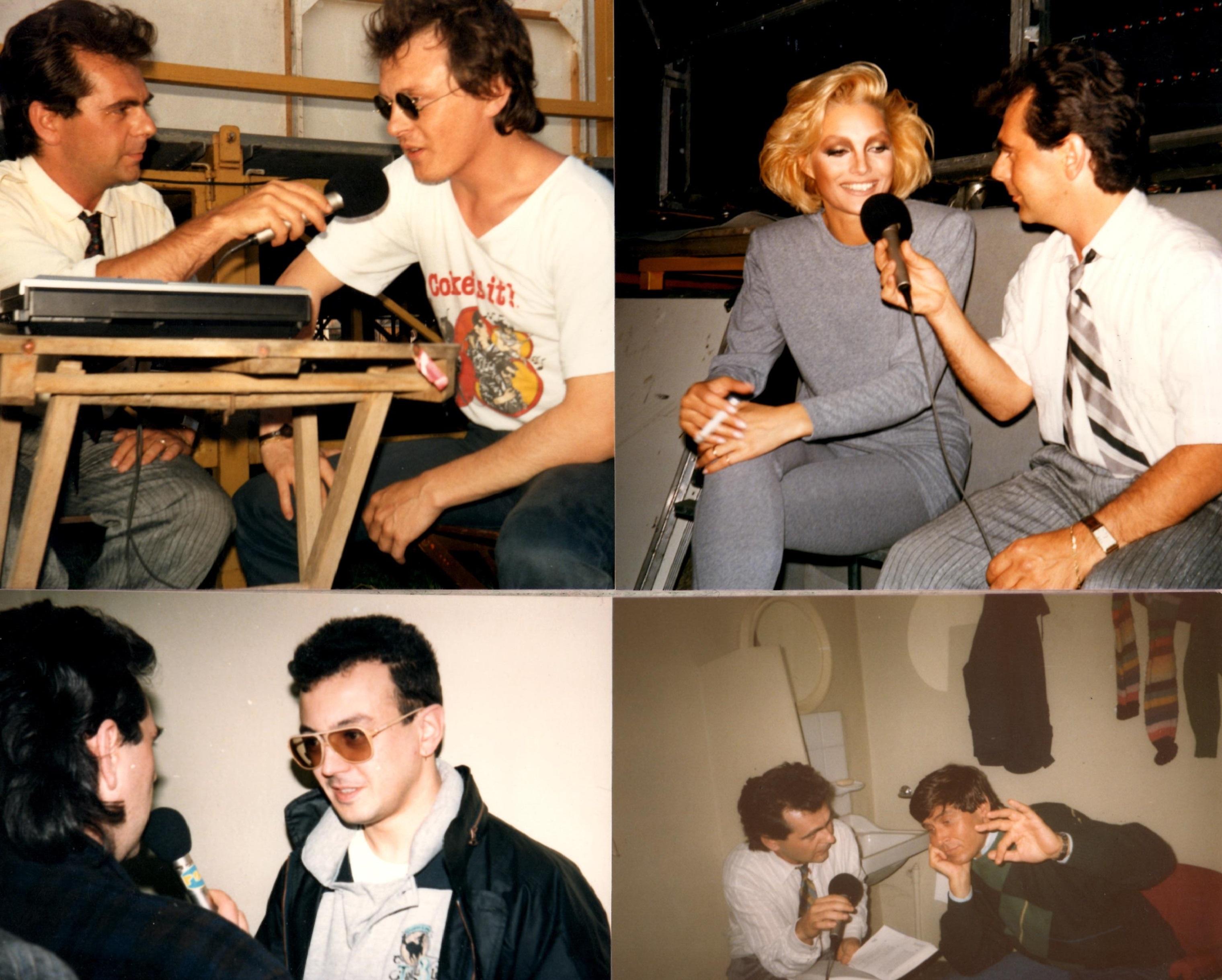1987-1990 interviste a Zucchero Oxa Ruggeri Morandi