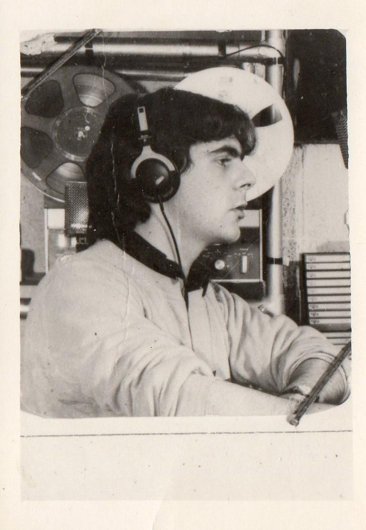 Silvano Lucenti 1977 RMC3 prime trasmissioni radio