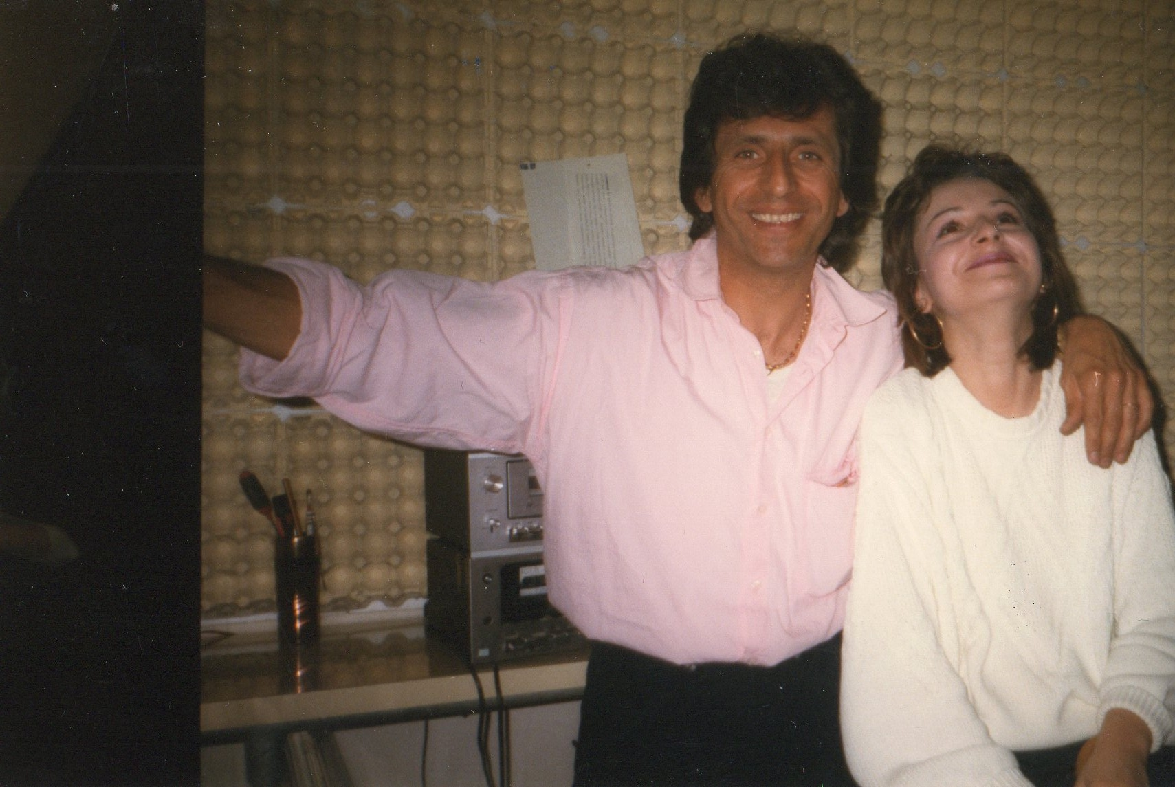 Lorena Ori con Paolo Mengoli