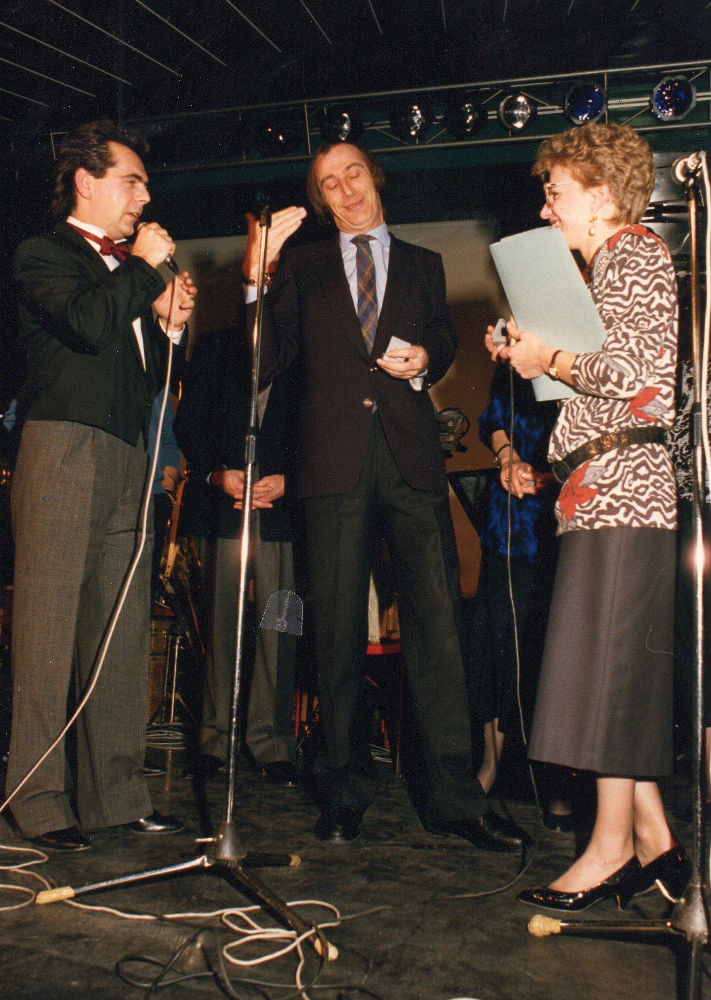 Festa Marabù 1987 - Silvano,Maurizio Vidoli e Silvia
